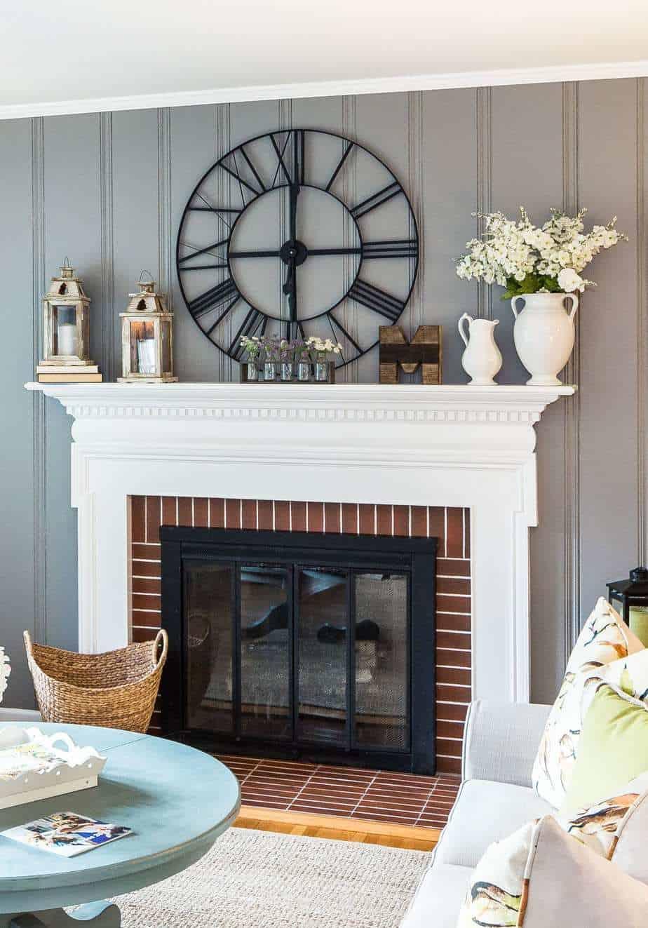 Styling your Modern Farmhouse Mantel