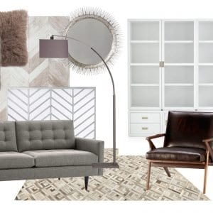 White Oak Farmhouse E-Design