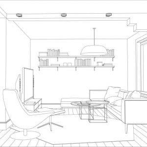 White Oak Farmhouse E-Design Floorplan