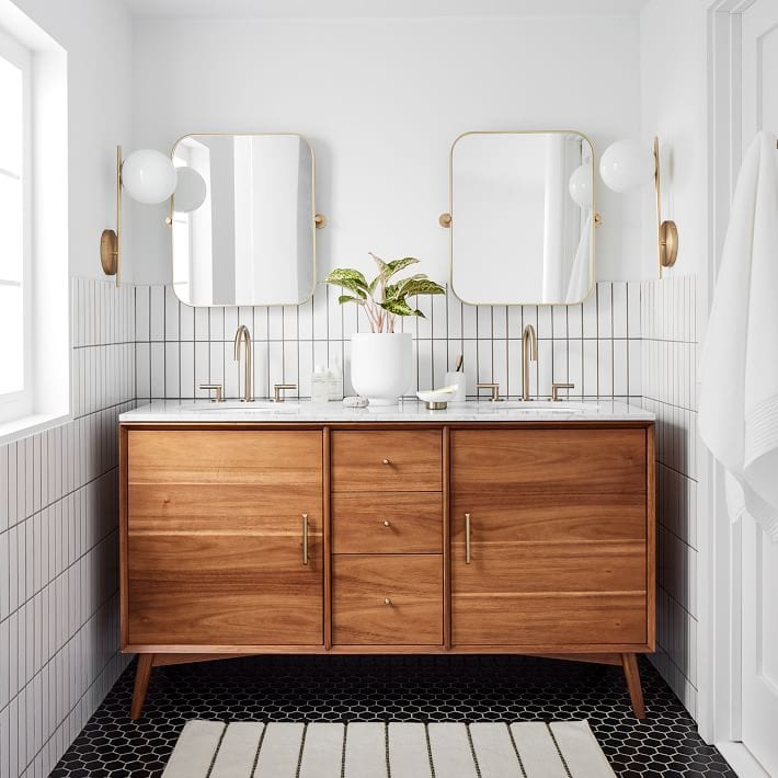 Modern Farmhouse Bathroom Inspiration
